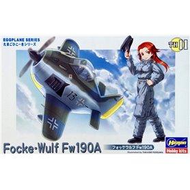Hasegawa TH11-60121 Egg Plane Focke Wulf 190A