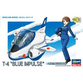 Hasegawa TH13-60123 Egg Plane T-4 Blue Impuls