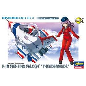 Hasegawa TH14-60124 Egg Plane F-16 Thunderbirds