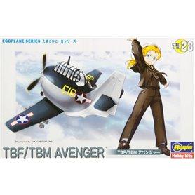 Hasegawa TH28-60138 Egg Plane TBF/TBM Avenger