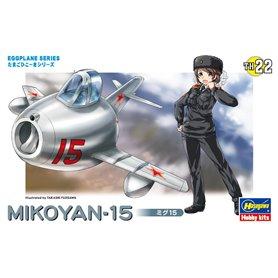 Hasegawa TH22-60132 Egg Plane Mikoyan-15