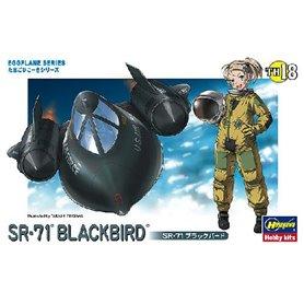 Hasegawa TH18-60128 Egg Plane SR-71 Blacbird