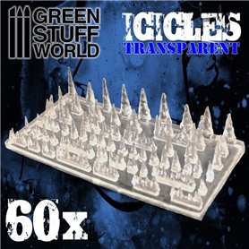 Green Stuff World Resin Stalactites and Icicles