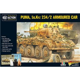Bolt Action Puma Sd.Kfz 234/2 Armoured Car