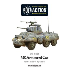 Bolt Action M8/M20 Greyhound Scout Car