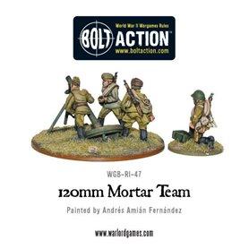 Bolt Action Soviet 120mm Mortar