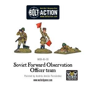 Bolt Action Soviet Forward Observer Officers