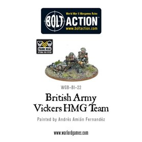 Bolt Action British Army Vickers HMG Team