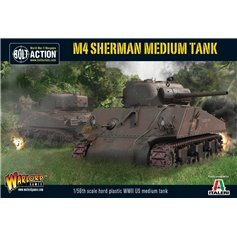 Bolt Action M4 SHERMAN 75 - MEDIUM TANK