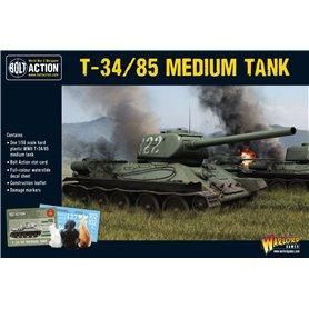 Bolt Action T34/85 Medium Tank