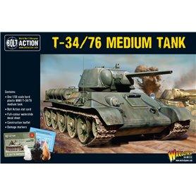 Bolt Action T34/76 Medium Tank