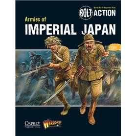 Bolt Action ARMIES OF IMPERIAL JAPAN - podręcznik z figurkami