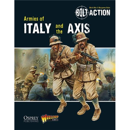 Bolt Action ARMIES OF ITALY AND AXIES - podręcznik z figurkami