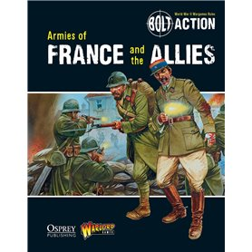 Bolt Action ARMIES OF FRANCE AND ALLIES - podręcznik z figurkami