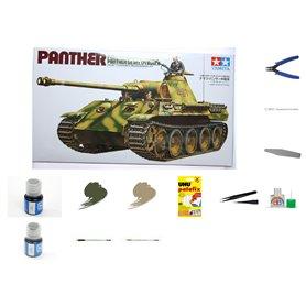 Zestaw Startowy Czołg Panther - model do sklejania w skali 1:35