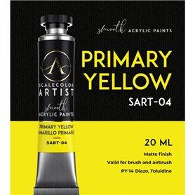 Scalecolor Artist Primary Yellow - farba akrylowa w tubce 20ml