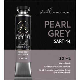 Scalecolor Artist Pearl Grey - farba akrylowa w tubce 20ml