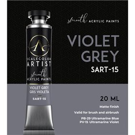 Scalecolor Artist Violet Grey - farba akrylowa w tubce 20ml