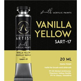 Scalecolor Artist Vanilla Yellow - farba akrylowa w tubce 20ml