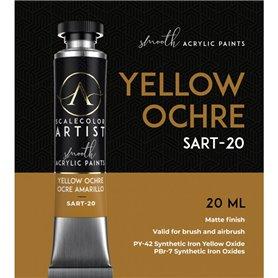 Scalecolor Artist Yellow Ochre - farba akrylowa w tubce 20ml