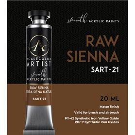 Scalecolor Artist Raw Sienna - farba akrylowa w tubce 20ml