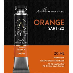Scalecolor Artist Orange - farba akrylowa w tubce 20ml