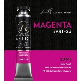 Scalecolor Artist Magenta - farba akrylowa w tubce 20ml