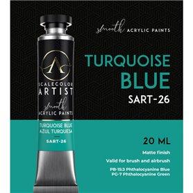 Scalecolor Artist Turquoise Blue - farba akrylowa w tubce 20ml