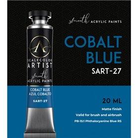 Scalecolor Artist Cobalt Blue - farba akrylowa w tubce 20ml