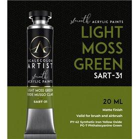 Scalecolor Artist Light Moss Green - farba akrylowa w tubce 20ml