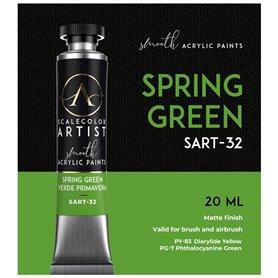 Scalecolor Artist Spring Green - farba akrylowa w tubce 20ml
