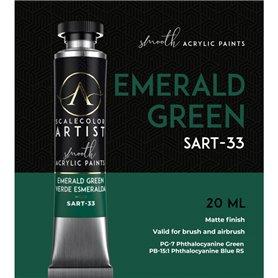 Scalecolor Artist Emerald Green - farba akrylowa w tubce 20ml