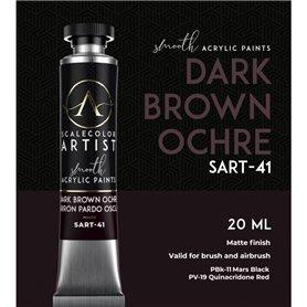 Scalecolor Artist Dark Brown Ochre - farba akrylowa w tubce 20ml