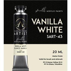 Scalecolor Artist Vanilla White - farba akrylowa w tubce 20ml