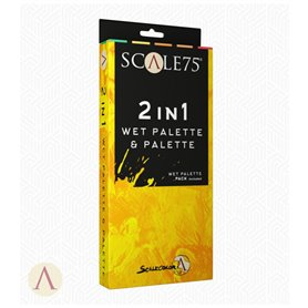 Scale75 2in1 Palette and Wet Palette Pack