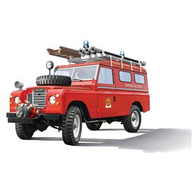 Italeri 1:24 Land Rover FIRE TRUCK
