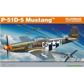 Eduard 1:48 North American P-51D-5 Mustang - ProfiPACK