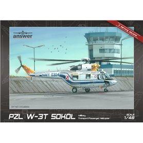 Answer AA48004 1/48 PZL W-3T Sokół Polish Navy