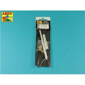 ABER 1:35 Metalowa lufa 128mm PaK.44 z hamulcem wylotowym