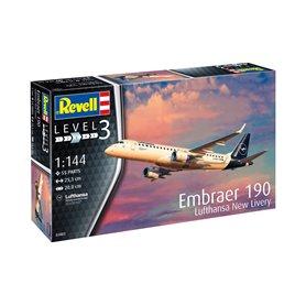 Revell 03883 1/144 Samolot Embraer 190 Lufthansa N
