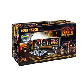 Revell 1:32 KISS - END OF THE WORLD - TOUR TRUCK - z farbami