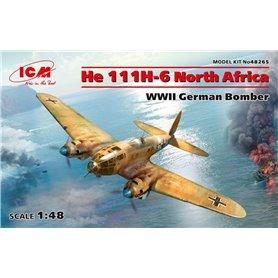 ICM 1:48 Heinkel He-111 H-6 - NORTH AFRICA - WWII GERMAN BOMBER