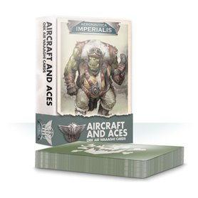 Aero/Imperialis Aircrft & Aces: Ork Air Waaagh! Crds