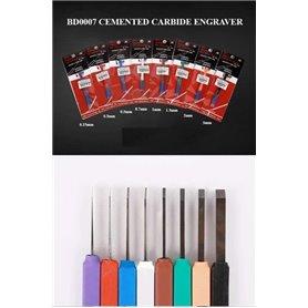 Border Model BD0007-0,3 Cemented Carbide Engrav.