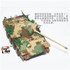 Border Model BD0025 Camo-mask of Panther A/G 1/35