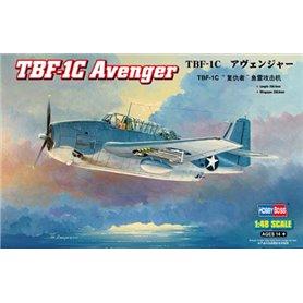 Hobby Boss 1:48 Grumman TBF-1C Avenger