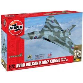 Airfix 1:72 Avro VulcanB Mk.II XH558| w/paints |