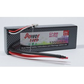 Pakiet LiPol Power HD 5200mAh 7,4V 25C CAR