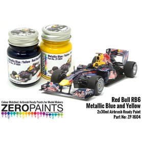 Zero Paints 1604 Red Bull RB6 Metallic Blue