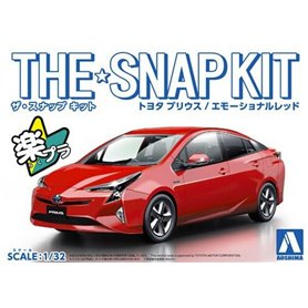 Aoshima 05417 1/21 Toyota Prius Red SNAPK